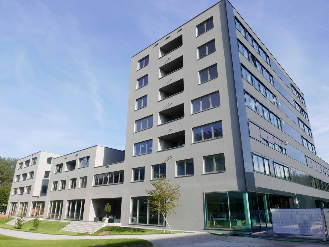 Wissenspark Urstein Salzburg bietet flexible Bürogrößen