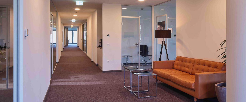 Innenansicht Büro Wissenspark Urstein