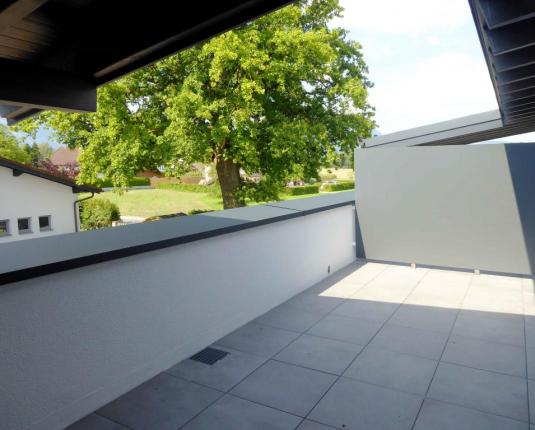 Terrassenbüro im Grünen