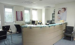 Freundliches Büro für Kleinunternehmen