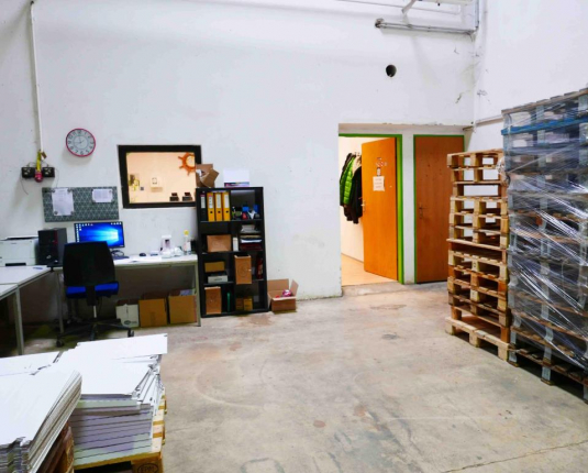 Bürobereich in Betriebsliegenschaft