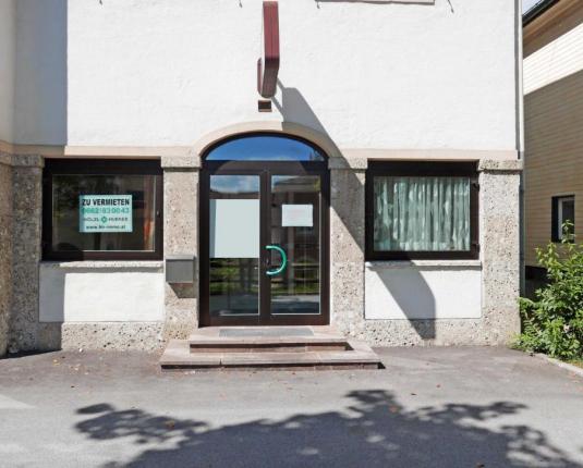 Außenansicht des Eingangsbereichs zum Büro
