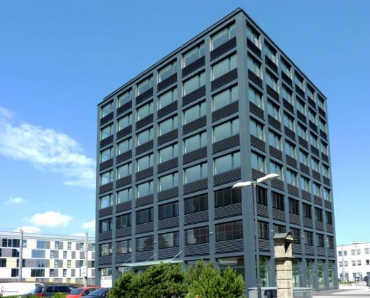 Ansicht modernes Bürogebäude