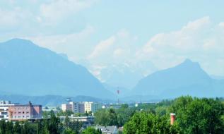 Ausblick auf Salzburg