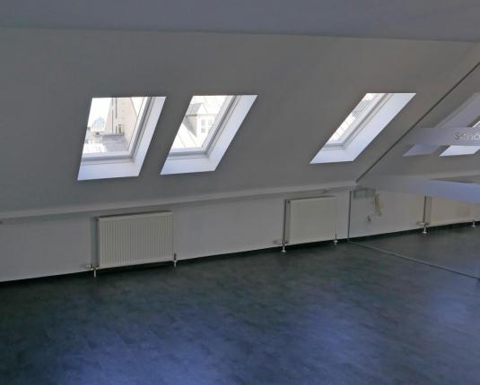 Büro im Dachgeschoß
