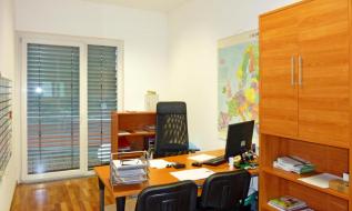 Ansicht eines kleinen Büros