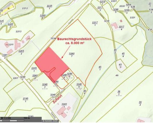 Baurecht: Unbebautes Grundstück mit viel Potenzial
