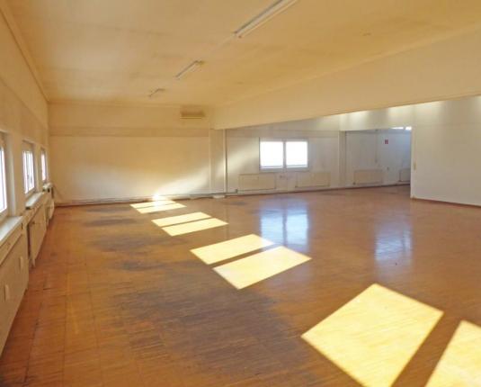 Heller und großer Raum zur Büronutzung