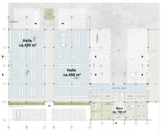 Flexible und hochmoderne Hallen und Büroflächen