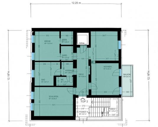 Erstklassige Wohnung im Andräviertel