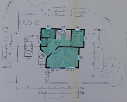 Betriebsliegenschaft und Blockhaus zu vermieten