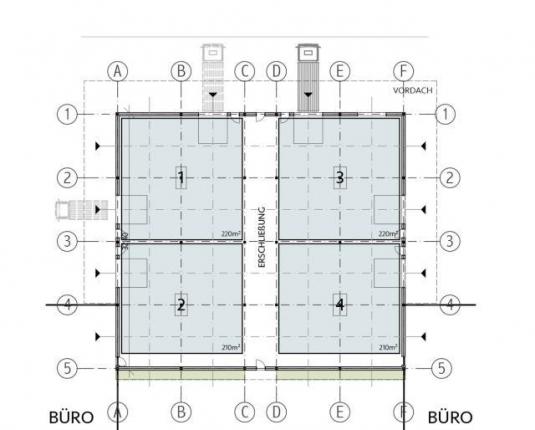 Kleine Hallenfläche in einzigartigem Neubau Salzburg-Nord
