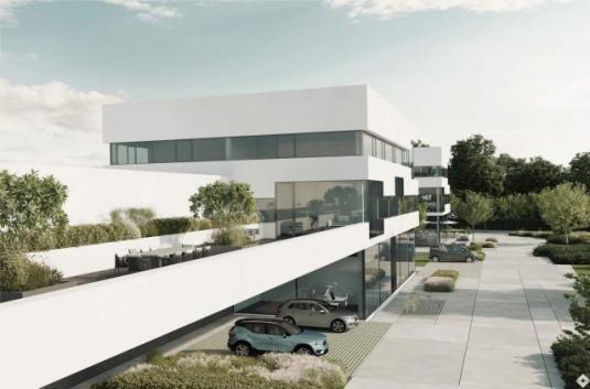 Hallen – Büro – Kombination in modernem Gewerbepark