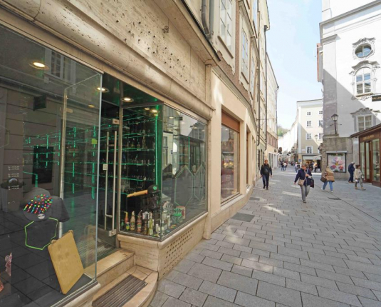Geschäftslokal in Salzburger AAA-Lage