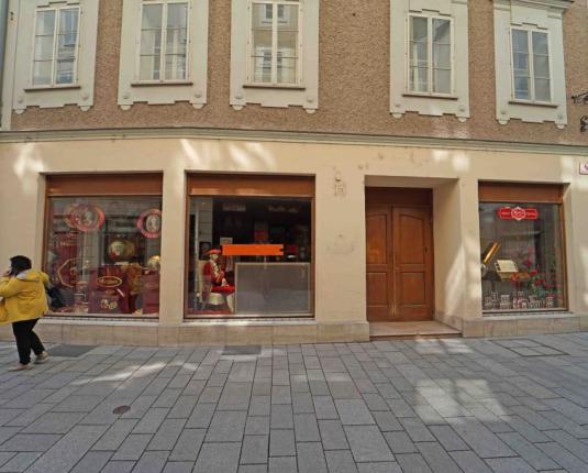 Geschäftslokal in Salzburger Altstadt
