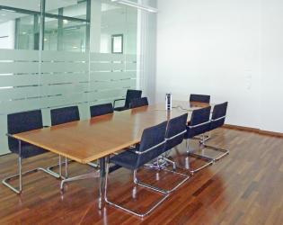 Ansicht Büro Besprechungsraum