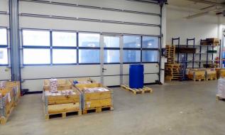 Lager 1.165 m² mit Verkauf/Ausstellung 300 m²